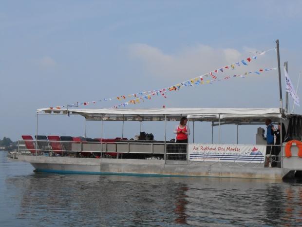 bateau au rythme des marées